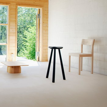 Nikari Cafe Classic stool, 72 cm, ash