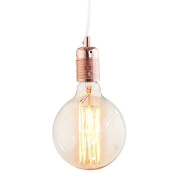 Frama E27 lampunjohto, kupari-valkoinen