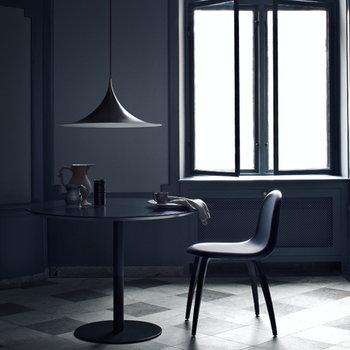 Gubi Lampada Semi 47 cm, grigio blu