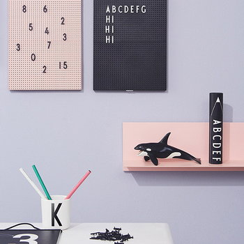 Design Letters Letters for message board, black