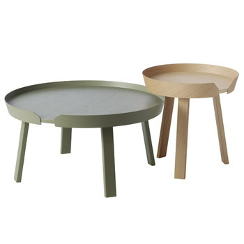 Muuto Around table large, dusty green