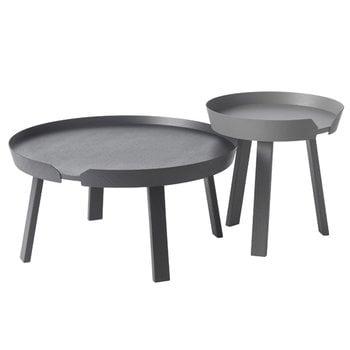 Muuto Around table small, dark grey