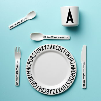 Design Letters Arne Jacobsen melamine cup