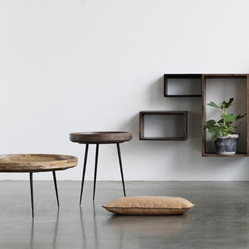 Mater Bowl table, medium, natural