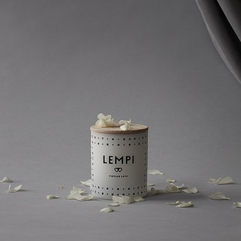 Skandinavisk Scented candle with lid, LEMPI