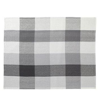 Muuto Loom throw, dark grey