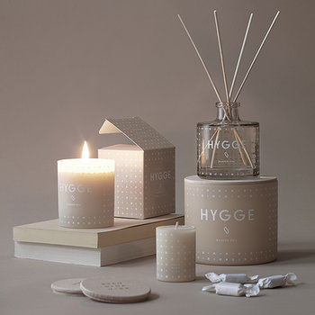 Skandinavisk Scented candle with lid, HYGGE, small
