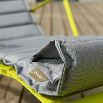 Fermob Seat cushion for Bistro Metal chaise longue, verbena