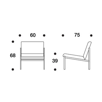 Artek Kiki nojatuoli, Hallingdal 65, 130 harmaa