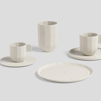 Hay Paper porcelain mug, light grey