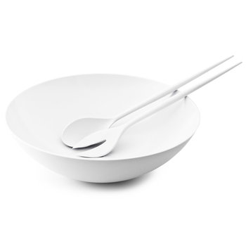 Normann Copenhagen Krenit salad set, white