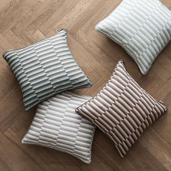 Ferm Living Arch cushion, grey - off-white