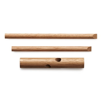 Normann Copenhagen Sticks hooks 2 pcs, black