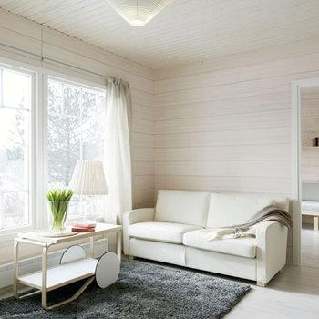 Artek Aalto tea trolley 901, white-birch