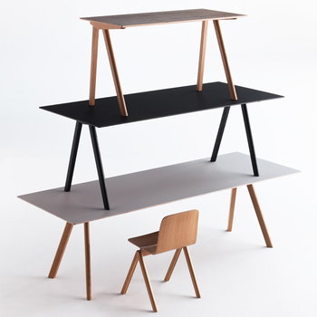 Hay Copenhague CPH90 desk, black