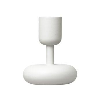 Iittala Nappula candleholder, white, 2-pack
