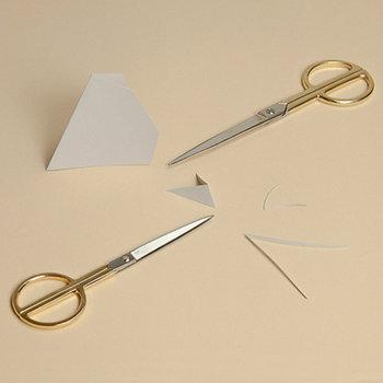 Hay Phi scissors, large, gold