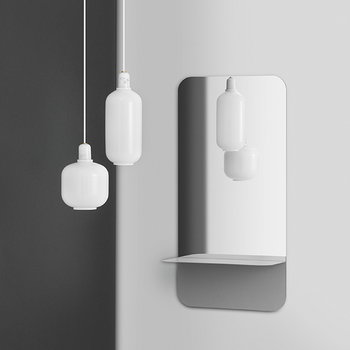 Normann Copenhagen Lampada Amp, piccola, bianca