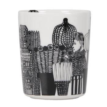 Marimekko Oiva - Siirtolapuutarha mug without handle 2,5 dl