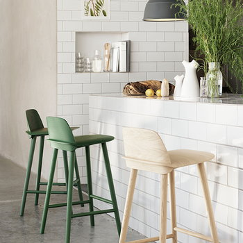 Muuto Nerd bar stool, high