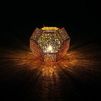 Tom Dixon Etch candleholder, copper