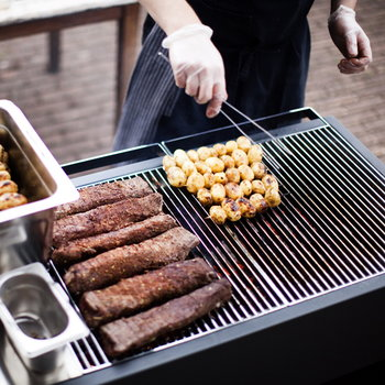 Röshults Grill BBQ 200, antracite