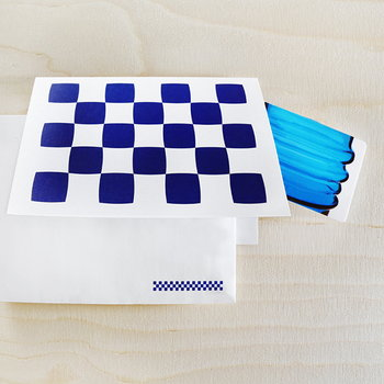 Gift Card Blue Glass