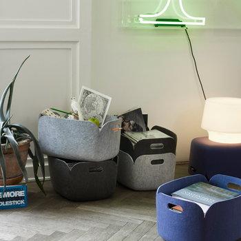 Muuto Restore storage basket, green