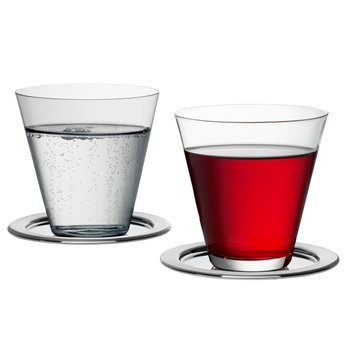 Iittala Sarpaneva steel coaster set of 4