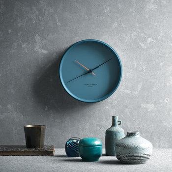 Georg Jensen HK Clock blue, large