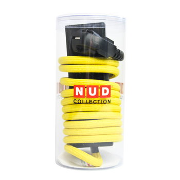 N.U.D. Collection Nud Extend 3-way extension cord, empire yellow