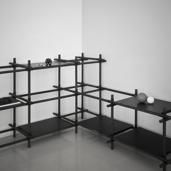Menu Stick System 1 x 4, black