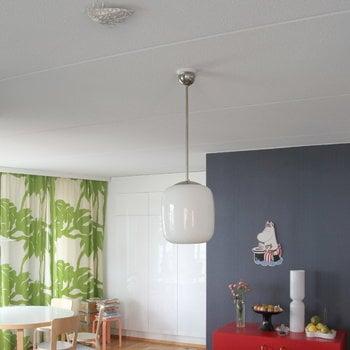 Jalo Helsinki Lento photoelectric smoke alarm, white