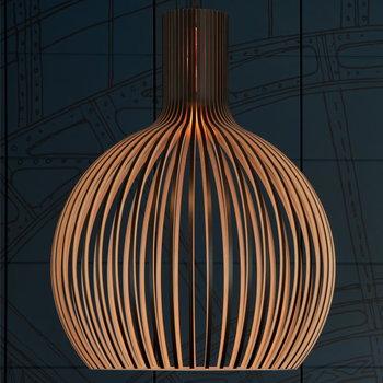 Secto Design Octo 4240 pendant, walnut