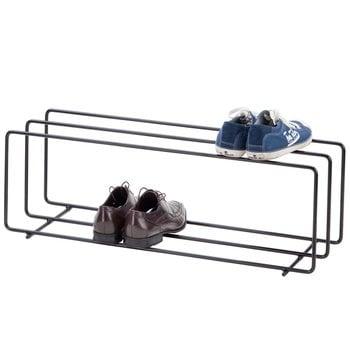 Showroom Finland Mixrack shoe rack L, black