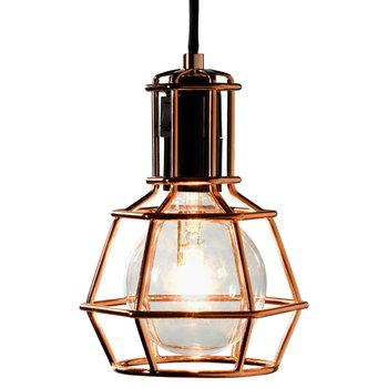 Design House Stockholm Work Lamp valaisin, kupari