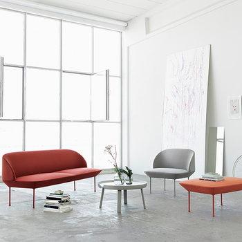 Muuto Oslo sohva, kahden istuttava