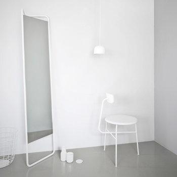 Menu Kaschkasch floor mirror, white