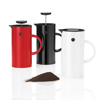 Stelton EM Press coffee maker, red