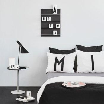Design Letters Arne Jacobsen pillowcase