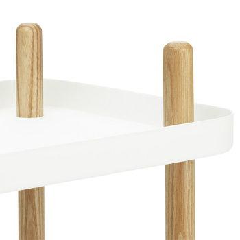 Normann Copenhagen Block table, white