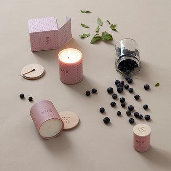 Skandinavisk Scented candle with lid, BAER