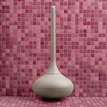 Normann Copenhagen Ballo toilet brush, light grey