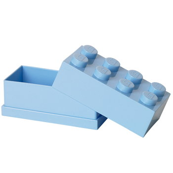 Room Copenhagen Lego mini box 8, light blue