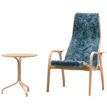 Swedese Lamino easy chair, sheepskin