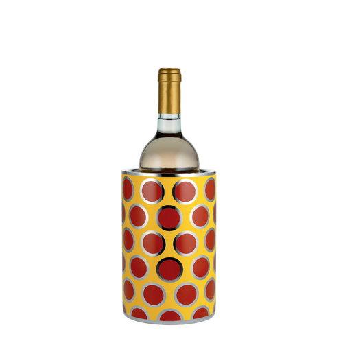 Alessi Circus viinij��hdytin, keltainen-punainen