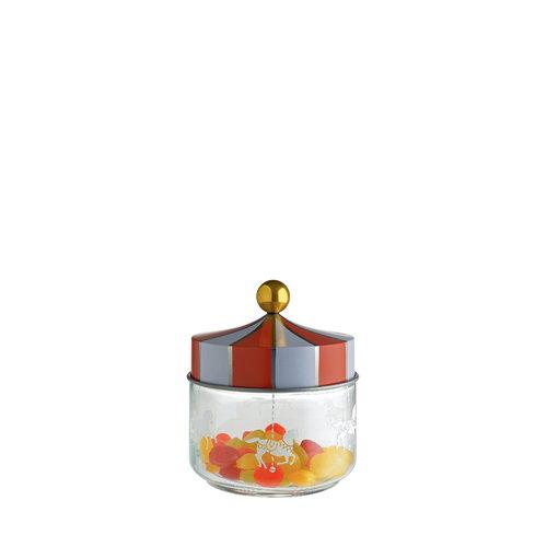 Alessi Circus lasipurkki, 0,5 L