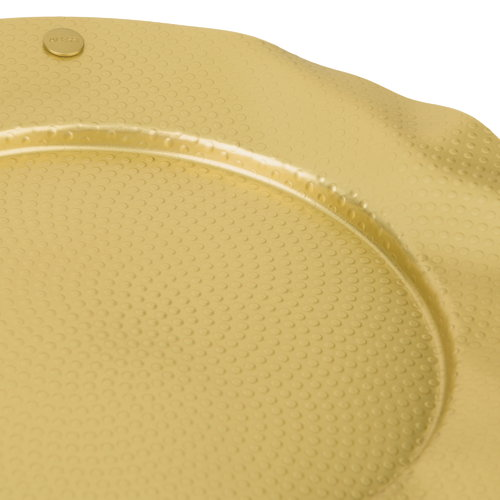 Alessi Sitges serving plate, brass