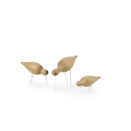 Normann Copenhagen Shorebird, large, white legs