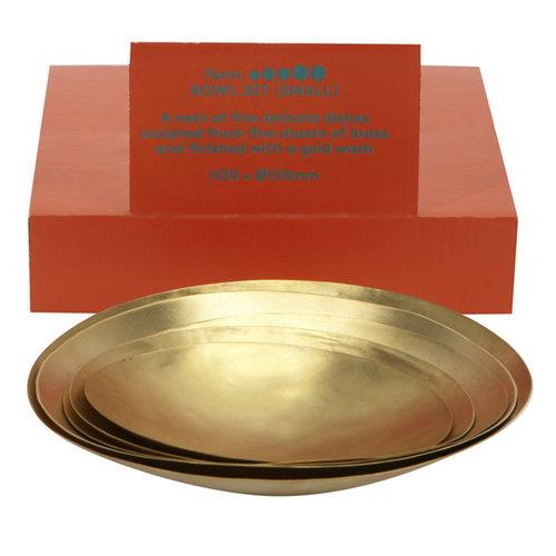Tom Dixon Form bowl set, small, 5 pcs